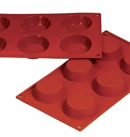 FAT DADDIO'S TARTLET SILICONE MOLD 2.37 OZ SMF-016