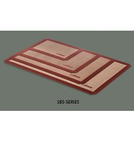 "WINCO SILICONE BAKING MAT, HALF SIZE, 11-7/8"" x 16"" SBS-16"