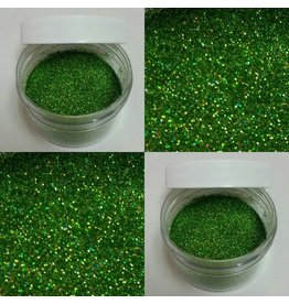 HOLOGRAM GREEN GLITTER NON TOXIC, FOR DECORATIVE PURPOSES ONLY 5GR