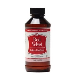 LORANN OILS RED VELVET BAKERY EMULSION 4 OZ