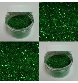 CHRISTMAS GREEN GLITTER NON TOXIC, FOR DECORATIVE PURPOSES ONLY 5GR