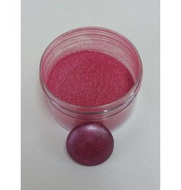 CLEARVIEW MOLDS SHIMMER RED PEARL DUST NON TOXIC, FOR DECORATIVE PURPOSES ONLY 5GR