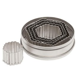 FLUTED HEXAGON SET 5PC 5201