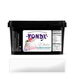 FONDX FONDX WHITE BUTTERCREAM FLAVOR 5LB