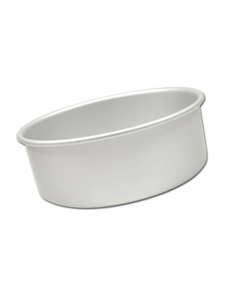 "FAT DADDIO'S ROUND CAKE PAN SOLID BOTTOM 5"" X 3"" PRD-53"
