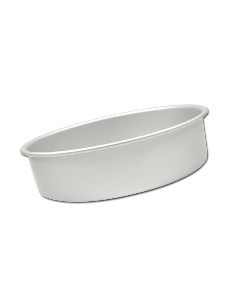 "FAT DADDIO'S ROUND CAKE PAN SOLID BOTTOM 7""x 2"" PRD-72"