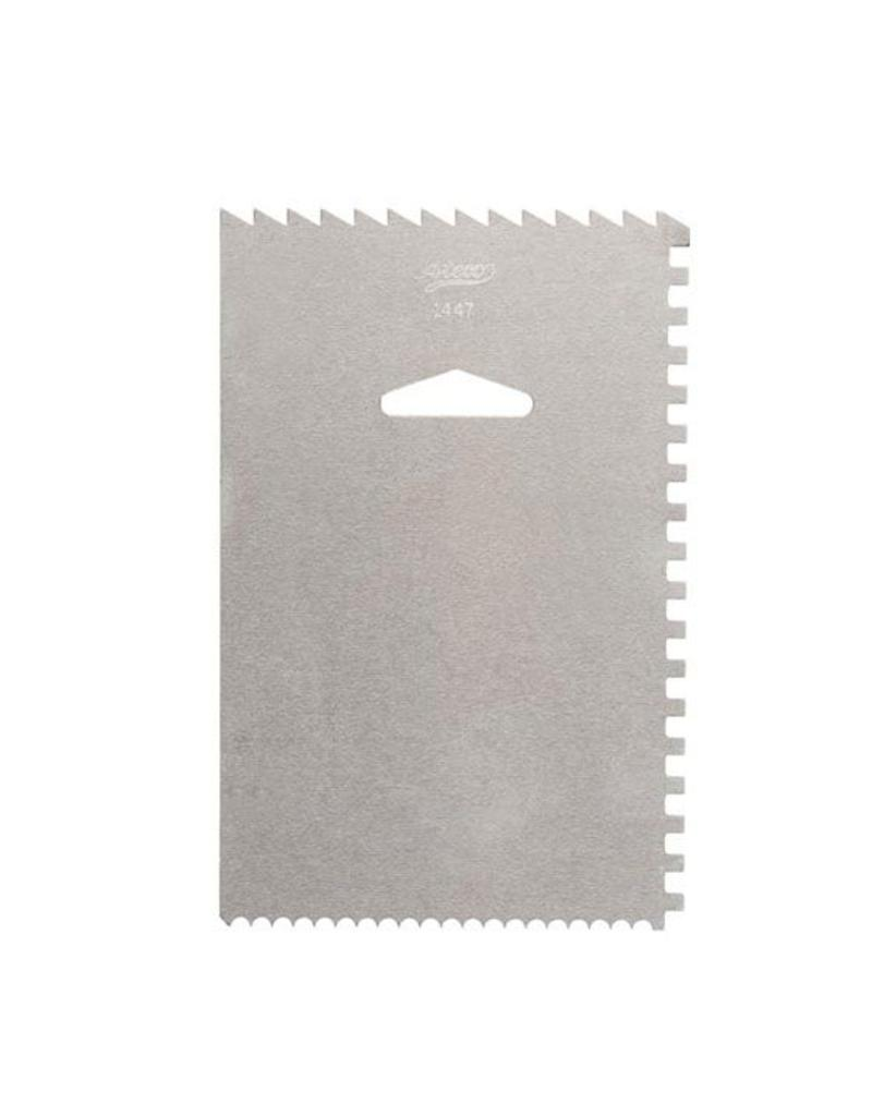 ATECO DECORATING COMB & ICING SMOOTHER 1447