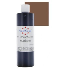 AMERICOLOR WARM BROWN GEL 13.5 oz 10431