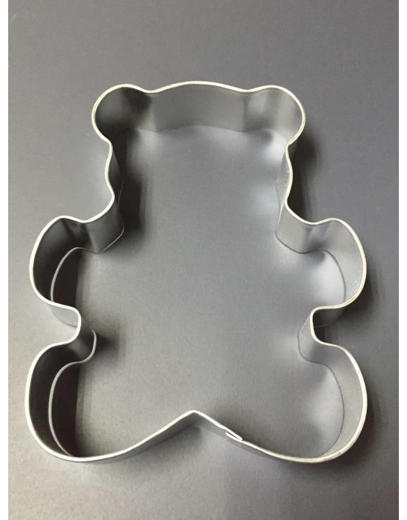"5"" TEDDY BEAR METAL COOKIE CUTTER"