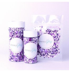 SPRINKLE POP PERFECTLY PURPLE SPRINKLE MIX 8 OZ