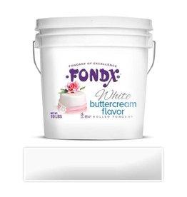 FONDX FONDX WHITE BUTTERCREAM FLAVOR 10LB
