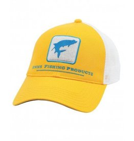 Simms Simm Tarpon Trucker Hat- Bright Yellow