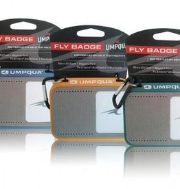 Umpqua Umpqua Fly Badge Gray/Blue