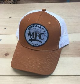 Montana Fly Company MFC Trucker Hat Burnt Orange