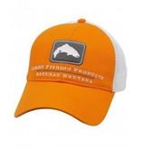 Simms Simms Trout Trucker Hat- Russet Orange