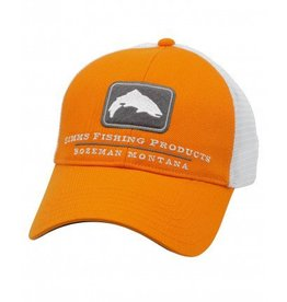 Simms Simms Trout Trucker Hat- Russet Orange