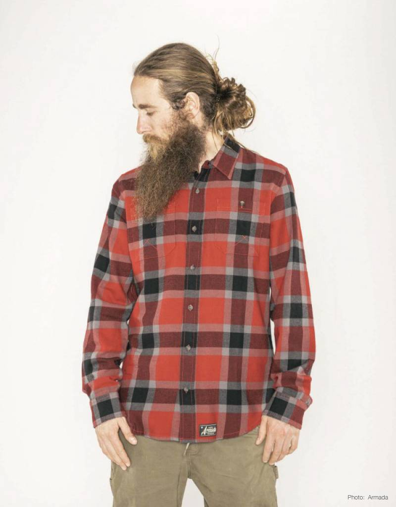ARMADA SKIS INC 19 ARMADA BAKER TECH FLANNEL SHIRT