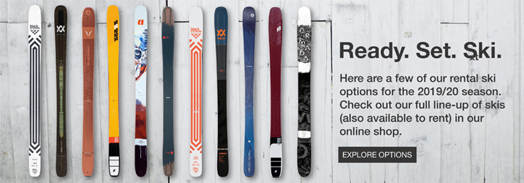 Urban Alpine rental skis
