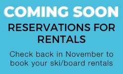 Reserve ski rentals for Whistler