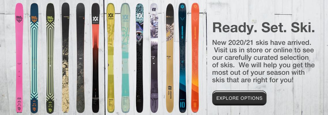 Skis For Whistler 2020/21 Ski Season