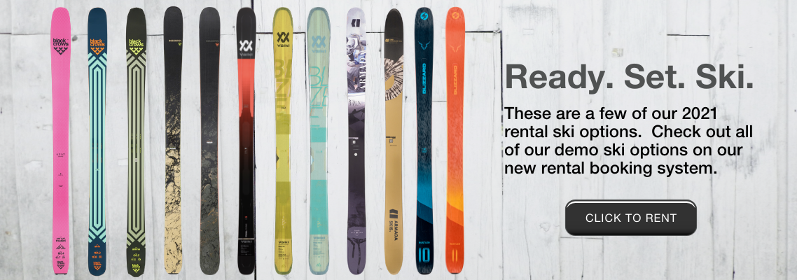 2021 Rental Demo Skis for Whistler