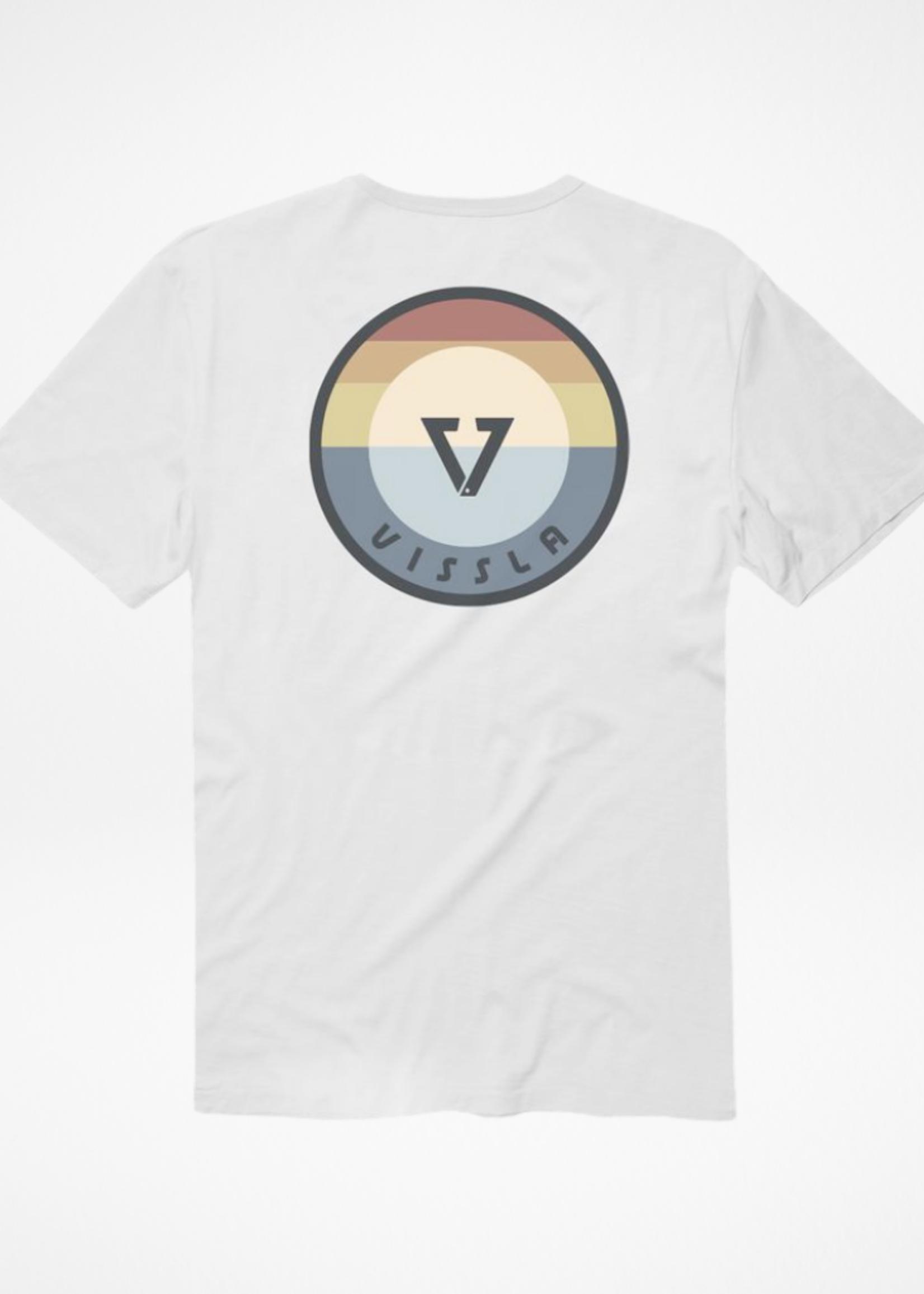 VISSLA 21 VISSLA MEDALLION WHITE TEE