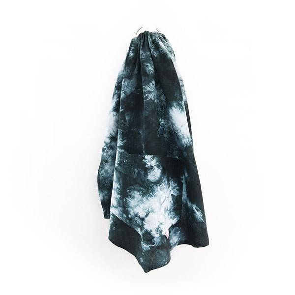 Two Feathers Babywearing Two Feathers Linen Tie Dye Ring Sling