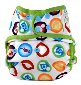 Sweet Pea Sweet Pea One-Size Diaper Cover - Print #Community2