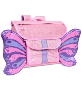 Bixbee Bixbee Sparkalicious Purple Butterflyer Backpack Small