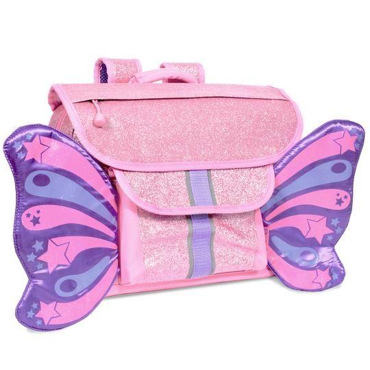 Bixbee Bixbee Sparkalicious Purple Butterflyer Backpack Small