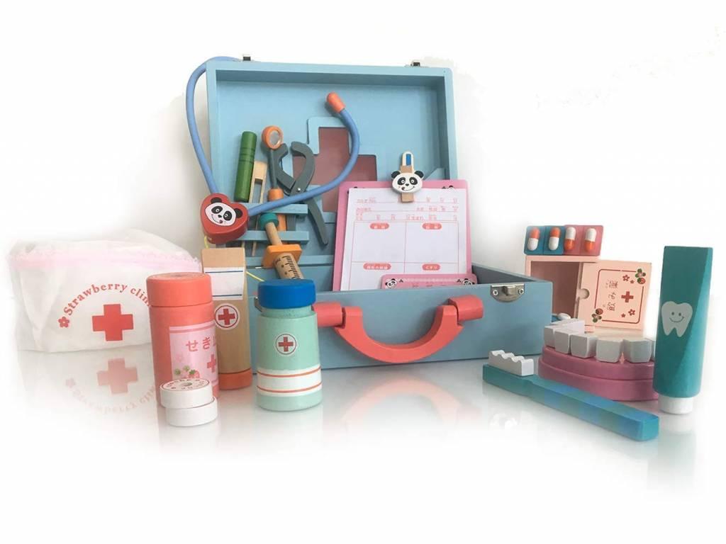 London-kate Wooden Doctor Kit