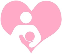 Nappy Shoppe Sticker - Breastfeed Heart