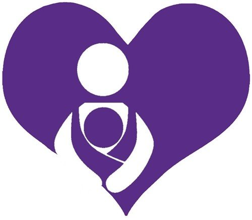 Nappy Shoppe Sticker - Babywearing Heart