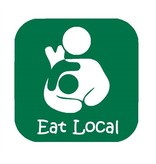 Nappy Shoppe Sticker - Eat Local Breastfeeding Toddler Box