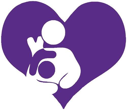 Nappy Shoppe Sticker - Toddler Breastfeed Heart