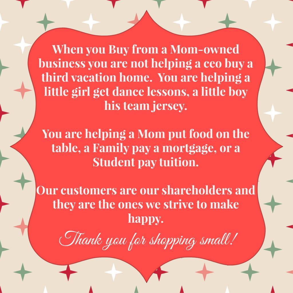 Small Business Saturday – Shop the community stores that care