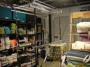 Setting up the Shoppe in Allen in 2010