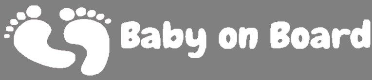 Nappy Shoppe Sticker - Baby on Board