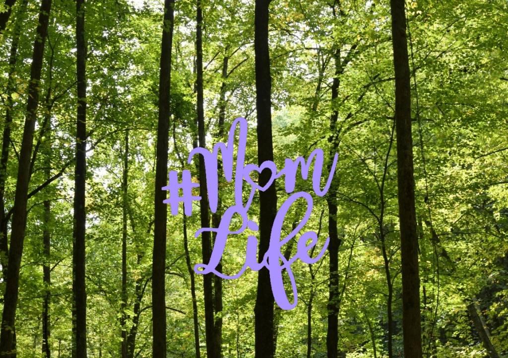 Nappy Shoppe Sticker - #MomLife