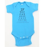 Nappy Shoppe Exclusives Onesie - If you can read this