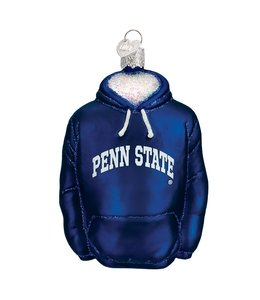 Old World Christmas Penn State Hoodie Ornament