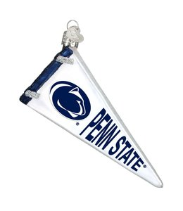 Old World Christmas Penn State Pennant Ornament