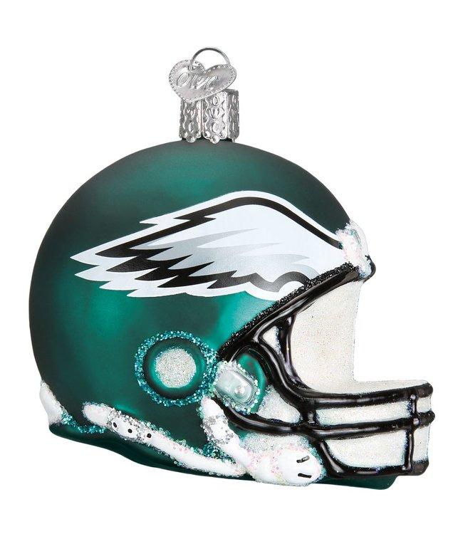 Old World Christmas Philadelphia Eagles Helmet Ornament
