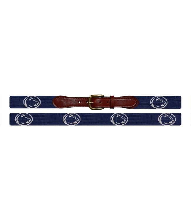 Smathers & Branson PSU Needlepoint Belt