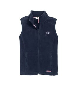 Vineyard Vines WOMENS PSU Westerly Fleece Vest