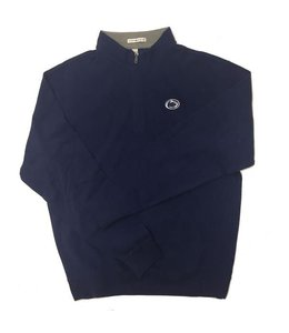 Peter Millar PSU Triblend Melange Fleece 1/4 Zip