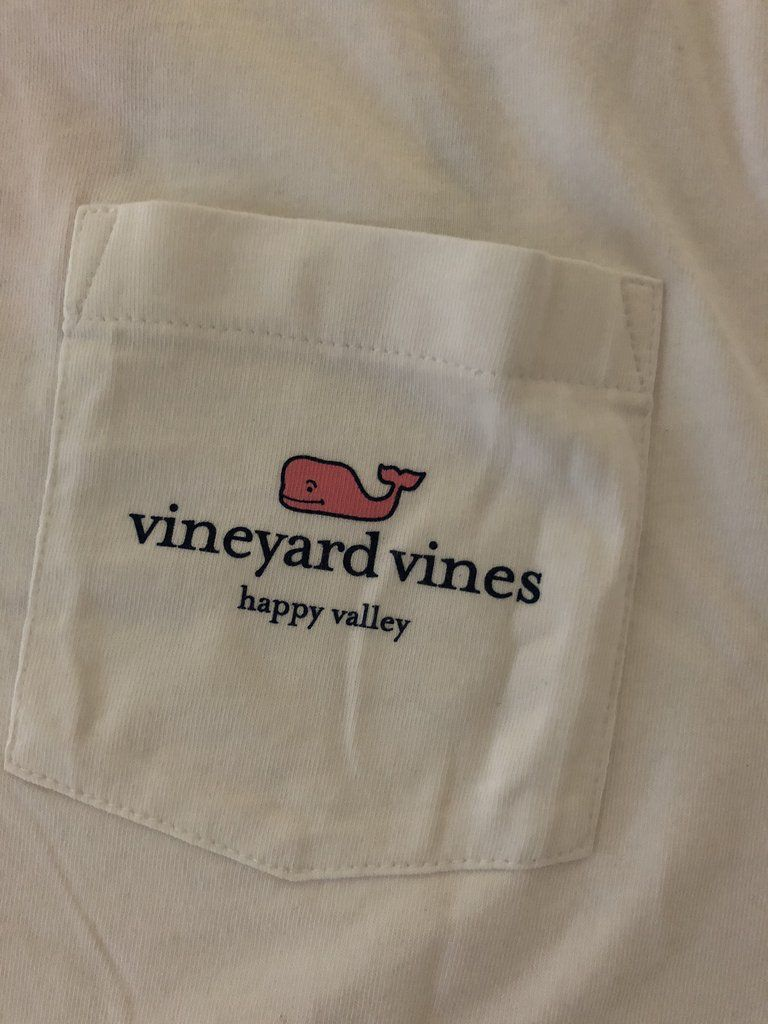 "e5e38973 I WHALEY Love Happy Valley"" L/S Tee - Harpers - Fine Clothing for ..."