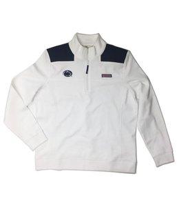 Vineyard Vines WOMEN'S Shep Shirt White w/ Navy Shoulder