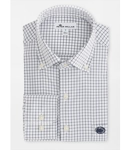 Peter Millar PSU Captain Performance Tattersall Shirt