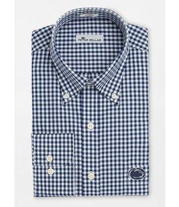 Peter Millar PSU Crown Soft Gingham Dress Shirt